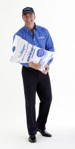 Culligan Man Delivering Salt for water system